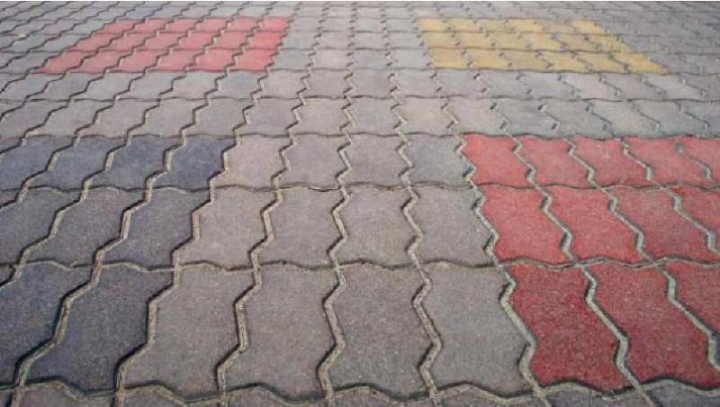 как выглядит бетонная тротуарная плита